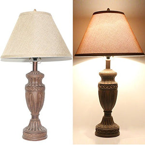 Tone bronze traditional table lamp a kanstar tone bronze traditional table lamp a aloadofball Images