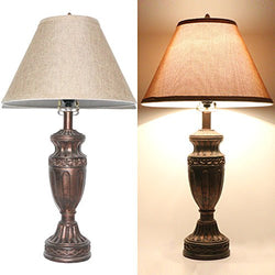 Bright Bronze Traditional Table Lamp B