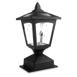 Kanstar Solar Powered Post Cap Light for 4 x 4 Nominal Wood Posts Pathway,Deck