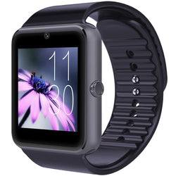 Smartwatch GT08 Bluetooth Phone with Sim Card Solt anti-lost Call reminder Mate (Black)