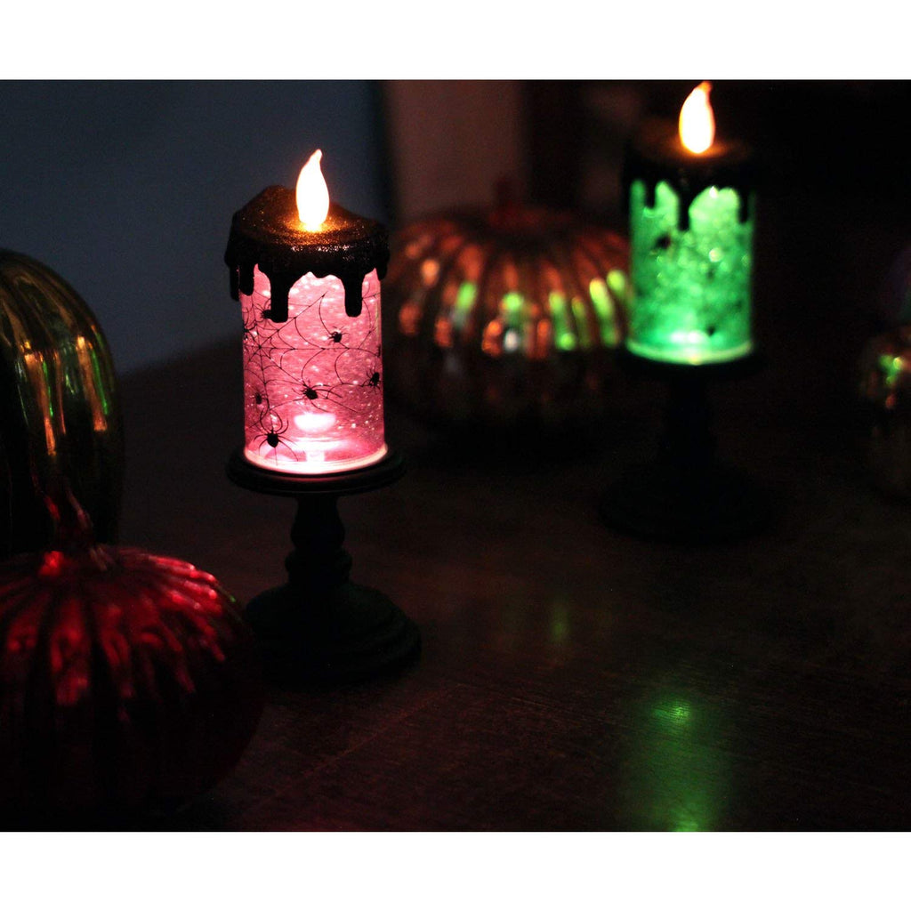 halloween tornado led lighting flameless candle, battery operated