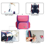 Kids' Backpack Children's School Bags for Elementary Lightweight Satchel Pink for Boys Girls with Add-on Patch