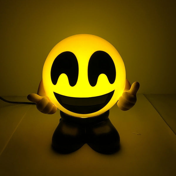 Emoji USB Charging Foggy Warm Lights - Bed Lamps - Night lights