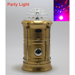 Party Light, Camping Lantern, Rechargeable LED Light & Handheld Flashlight Fishing for phone