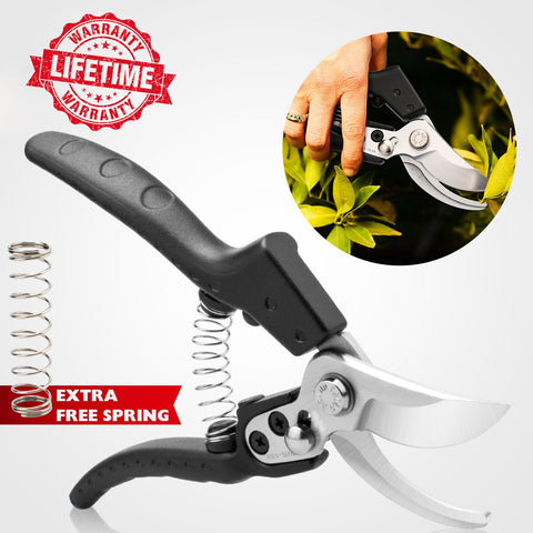 Clippers For The Garden,Pruning Shears ,Garden Pruners,Garden Shears Clippers For Plants,Garden Cutter,Clippers For Plants,Hand Pruners For Garden Garden Pruners Hand,Cutting Shears Garden (Black)