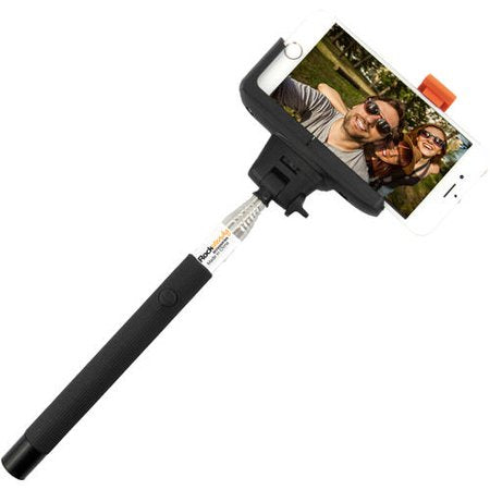 Rocksteady Wired Selfie Stick with Wired Control