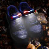 LED Shoes Lights for Night Runner, Running Lights for Runners,Night Trek Shoe Lights and Armband Lights for Running