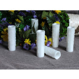 Led Candles, Flickering Flameless Pillar Wax Candle With Timer,1.75x6 Inches,White,Pack of 4