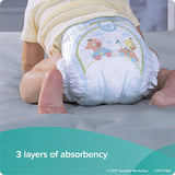 Pamper Swaddler Size-1 20 diapers