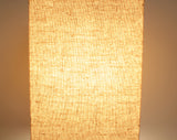 "17"" Square Wooden Minimalist Table Lamp"