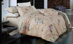 100% cotton reactive printing duvet cover set --Spring