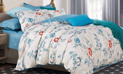 100% cotton reactive printing duvet cover set --Winter