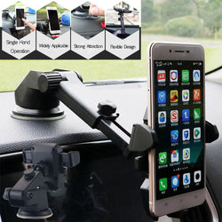360° Mount Holder Car Windshield Stand For Mobile Phone,Cell Phone, GPS, iPhone, Samsung, Android Phone