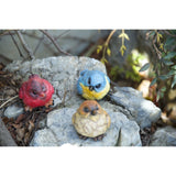 Set of 3 Outdoor Garden Resin Bird Decor Statue