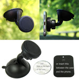 360º Magnetic Car Windshield Mount Stand Holder with Suction Cup For Cell Phone, GPS, iPhone, Samsung, Andriod Phone