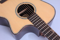 Alston Acoustic Guitar D-95HC , GA Body,  Solid Top, Armrest