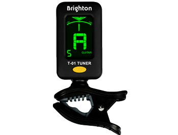 Brighton T-01 Clip-on Tuner Chromatic Tuner