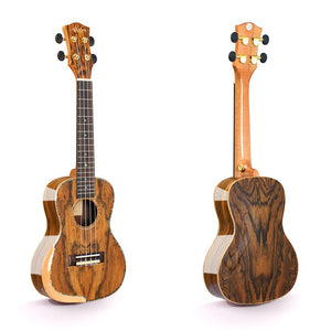 Alston UF-372 Concert Ukulele with Hardshell Case
