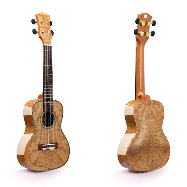 Alston UF-363 Concert Ukulele with Hardshell Case