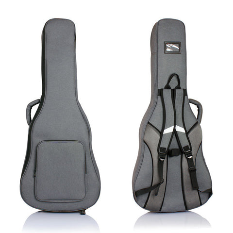 BAS Charcoal Grey Dreadnought Acoustic Guitar Gig Bag Case WPC