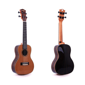 Alston UP-347 Concert Ukulele with Hardshell Case