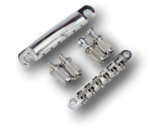 Tailpiece Tunomatic Bridge Stopbar Set for Gibson LP Epiphone Guitar Chrome  BLP1(CM)