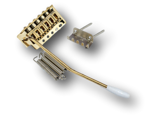 Fender Strat Style Tremolo & Bridge System Gold