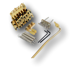 Floyd Rose Special Locking TREMOLO Bridge & R3 Nut Electric Guitar Gold TF1(GD)