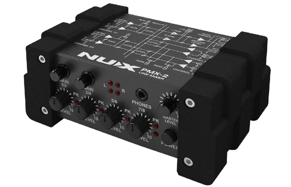 NuX PMX-2 Multi-Channel Mini Mixer