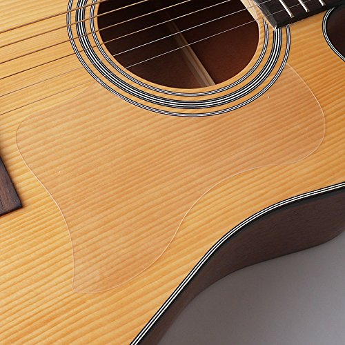 Transparent Acoustic Guitar Pickguard Bird Self-adhesive