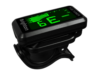 Brighton T-03  Clip-on Tuner Chromatic Tuner for Guitar Ukulele Bass Violin Chromatic, LCD Display