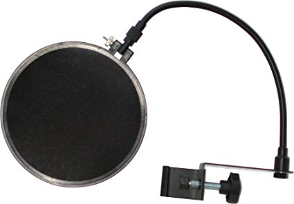Audio2000's Dual Screen Pop Filter AWS406