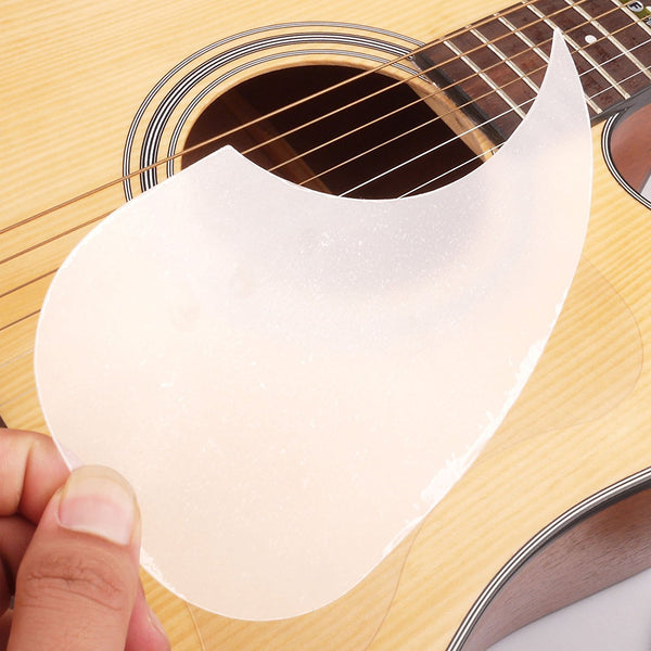 Transparent Acoustic Guitar Pickguard Droplets Water Drop