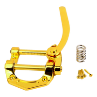 Vibrato Tremolo Tailpiece fit for SG Tele Les Paul LP Electric Guitar Gold  TLP1(GD)