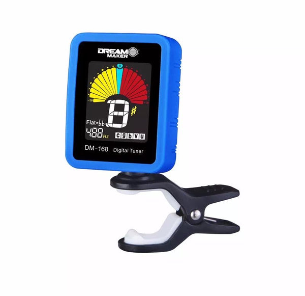 Dream Maker DM-168  Clip-on Tuner Chromatic Tuner with Silicone Cover
