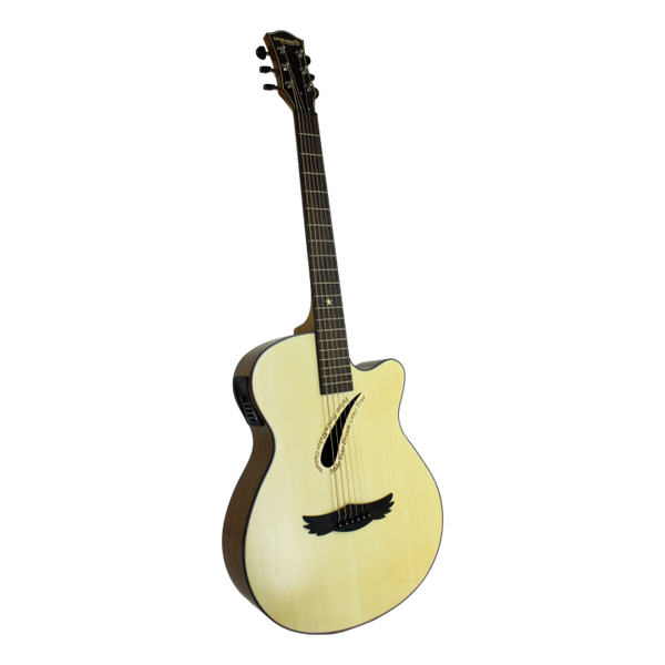 Dream Maker Electric Acoustic Guitar DM-200CE Teardrop