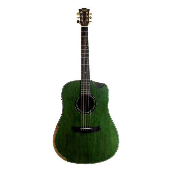 Dream Maker Acoustic Guitar KU280E Green Solid Spruce Top, Rosewood Back&Sides