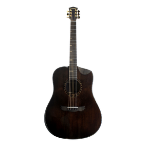 Dream Maker Acoustic Guitar KU280E COFFEE Solid Spruce Top, Rosewood Back&Sides
