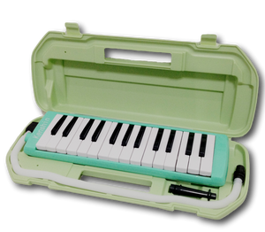 27  Key Melodica + Case Green Color