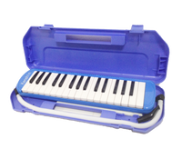 32  Key Melodica + Case Blue Color