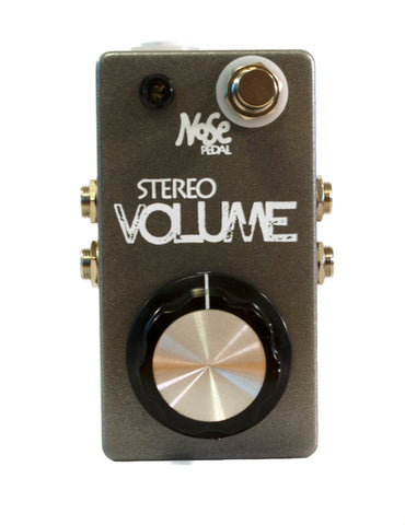 Nose Stereo Volume and Mute