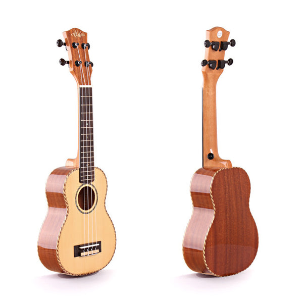 Alston UP-210 Soprano Ukulele with Hardshell Case