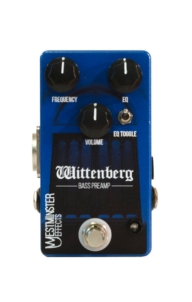 Westminster Effects Wittenberg Bass Preamp