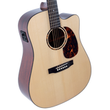 Recording King G6 Series Solid Top Dreadnought Cutaway w/ Fishman EQ