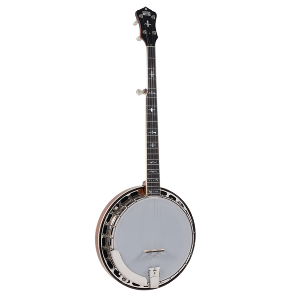 Recording King Madison Series Mahogany Resonator Banjo w/ Tone Ring