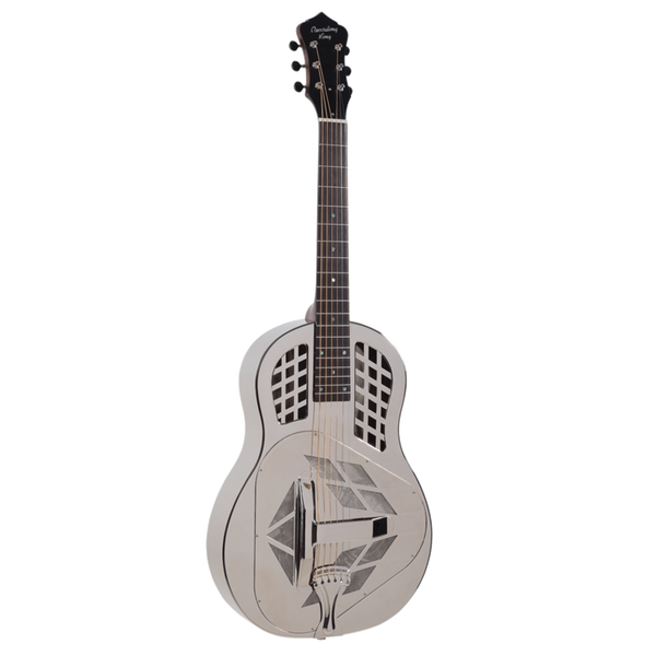 Recording King Metal Body Tricone Roundneck Resonator
