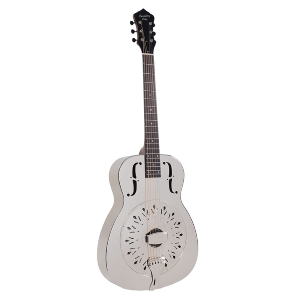 Recording King Style-0 Metal Body Resonator w/ Chickenfoot Coverplate