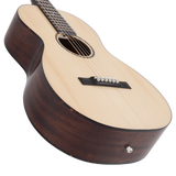 Recording King G6 Series Solid Top Single 0 Parlor Guitar