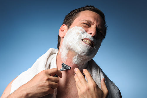Shaving with Acne
