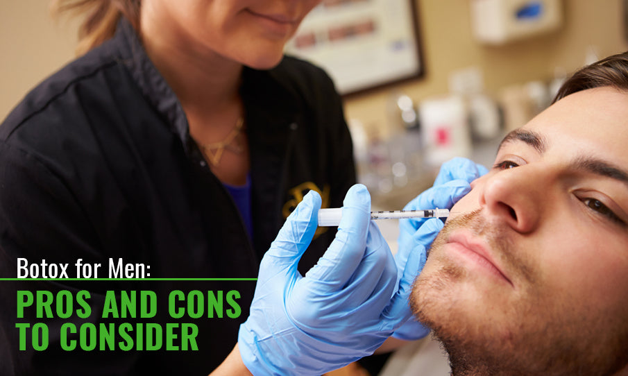mens botox pros and cons